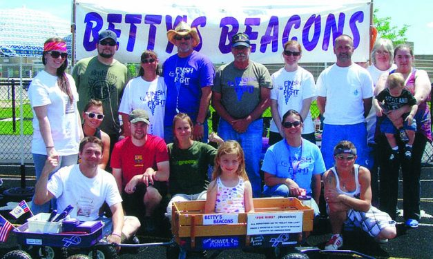 Betty's Beacons looking to collect 3 Quarts of Quarters for a Cure