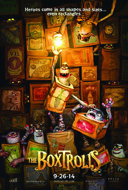 Charlotte native's artwork showcased in feature film, Boxtrolls at Eaton Theatre