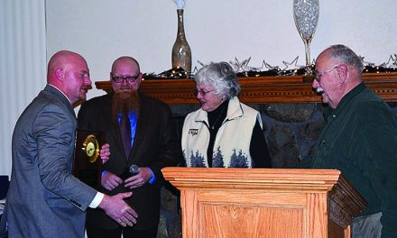 Chamber of Commerce President's Award given to Doug and Nola Buck