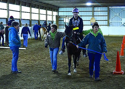 Students make important strides with Eaton Special Riding