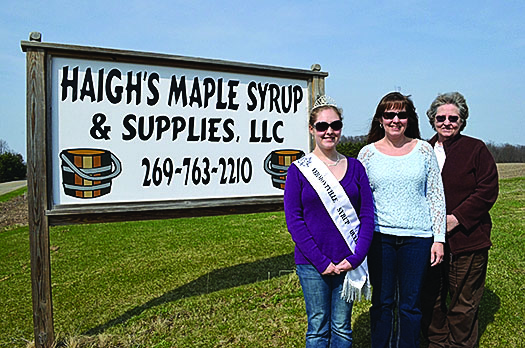 Reist realizes dream of becoming 2nd generation Syrup Festival Queen