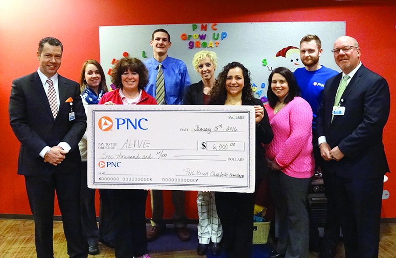 Pnc Volunteers Earn 6k For Alve Through Pnc Grants For Great Hours