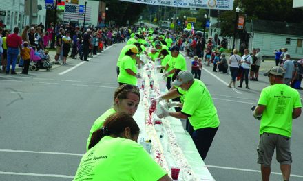 Attempt at World's longest ice cream sundae a great success