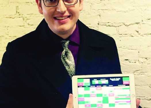 Charlotte native Jake Roys  develops app for vocally impaired