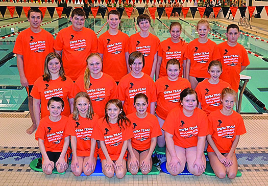 Middle School swim team lays foundation for future varsity sport