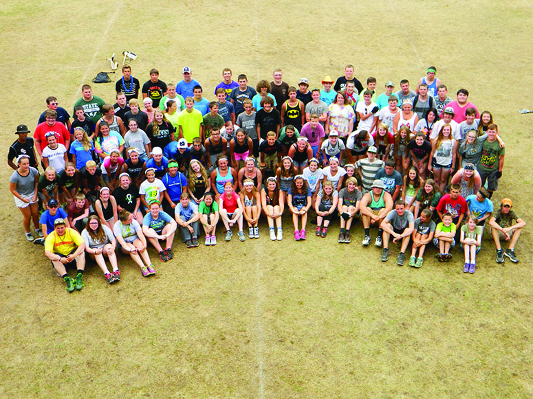 OHS marching band prepares for its upcoming marching season