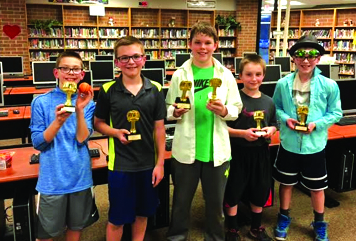 Olivet students read and write  their way through March