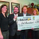 Eaton RESA teacher wins $1,000 award for 'Excellence in Education'