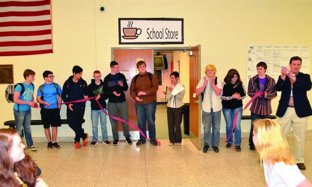 Oriole Nest Student Store open for business at Charlotte High School