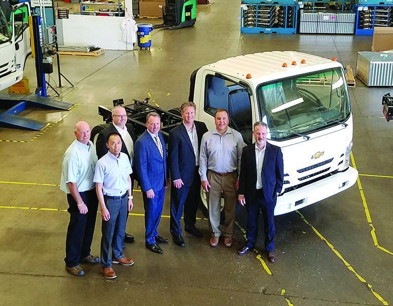 First Chevrolet medium duty truck  rolls off Spartan Motors production line