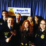 Olivet FFA receives awards  at the State FFA Convention