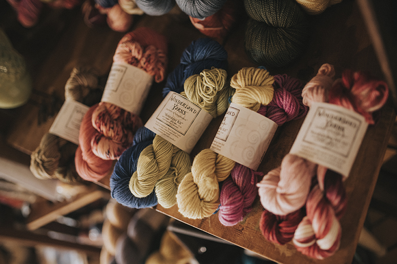 Potter's vision for the Yarn Garden brought to life at new location