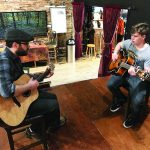 Windwalker musician sharing  passion for music with local youth