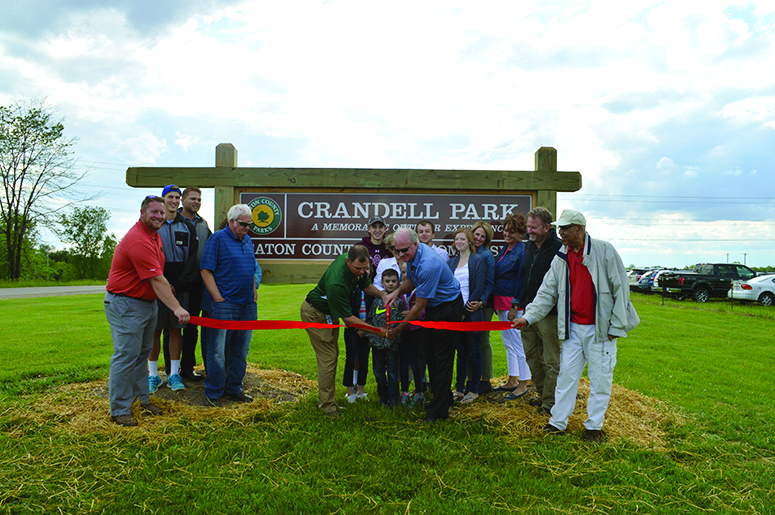 Grand Opening marks the official  arrival of Eaton County's newest park