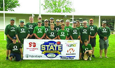 Olivet trap shooting team  celebrates successful first season
