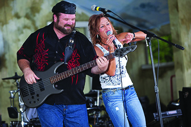 The Brenda Loomis Band is  bringing country to the Courthouse