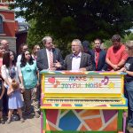 Keys in the City pianos  unveiled in downtown Charlotte