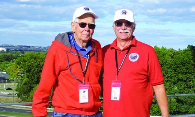 Local veteran participates in Washington DC honor flight