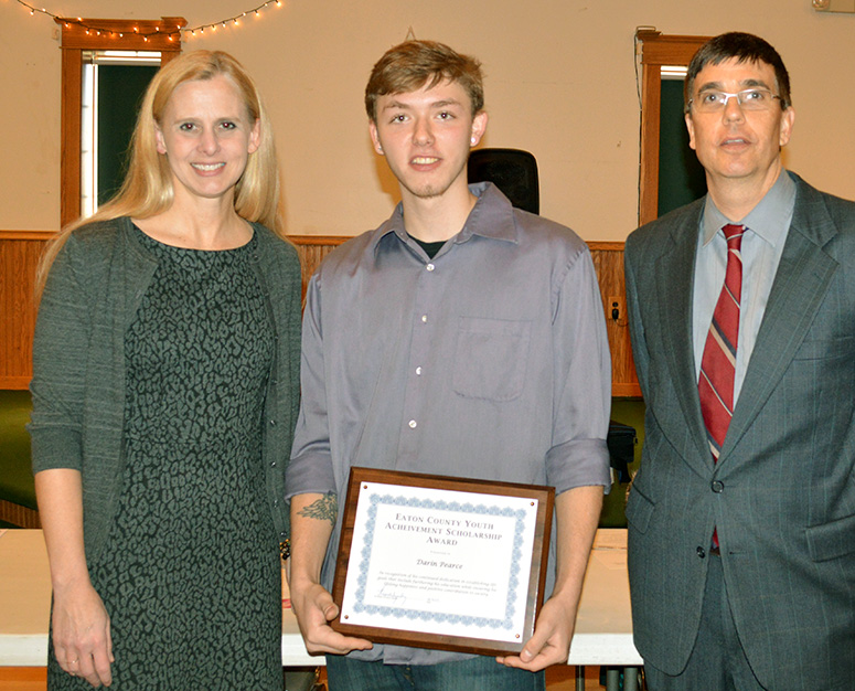 Local youth recognized for  efforts to turn life around