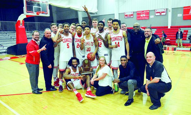 Win secures at least a share of  Olivet's first MIAA title in 45 years