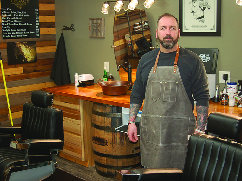 Getting to know Bryan Epling, owner of Legacy Barber Shoppe