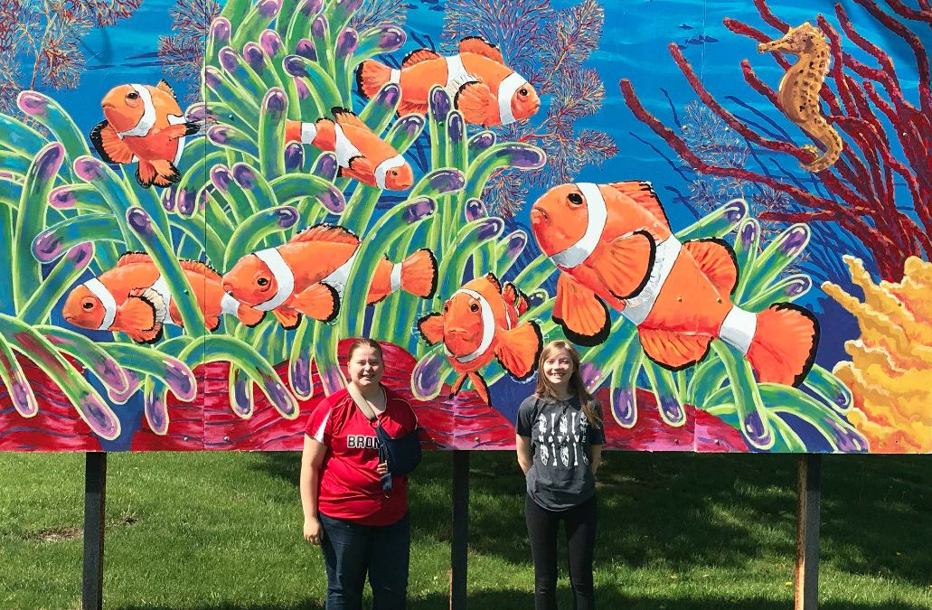 Bellevue students make mural for their hometown