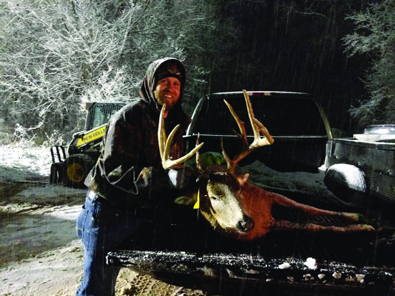 Community steps forward to ensure a  successful Maple Valley Community Buck Pole