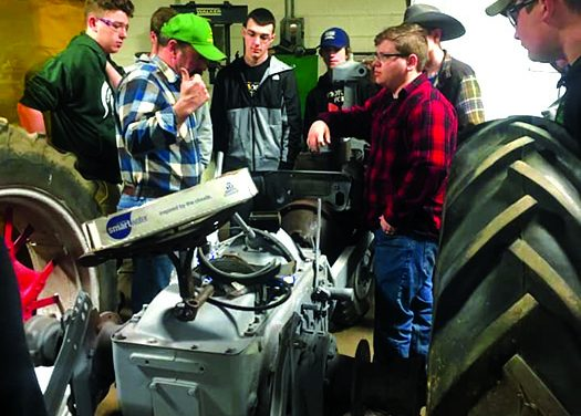 Ag sciences, FFA open Charlotte  students up to state's leading industry