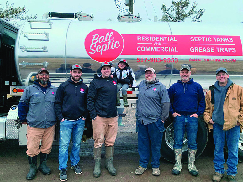 Ball Septic continues  on under new ownership