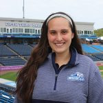 Potterville's Savannah Christiansen  interns with West Michigan Whitecaps