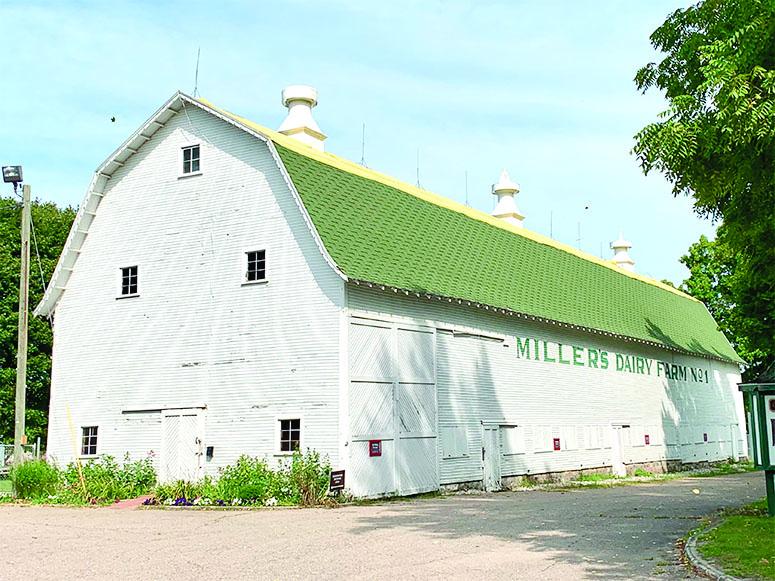 Historic Miller Barn needs roof