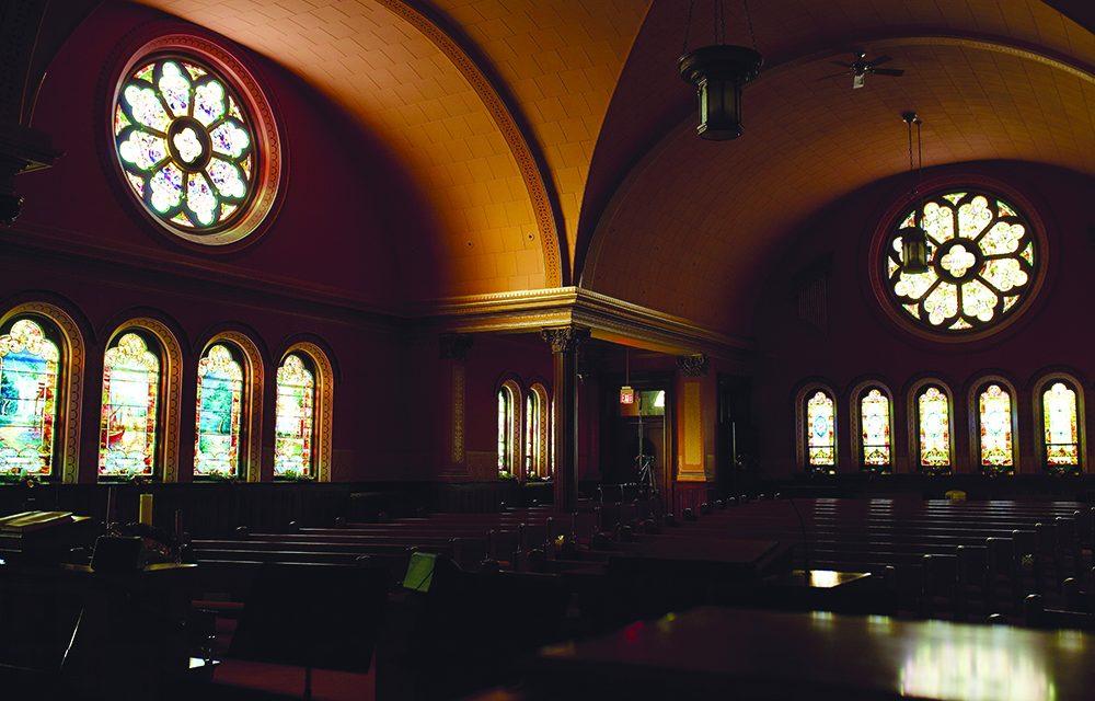 Church windows offer  'enlightened' sense of reverence