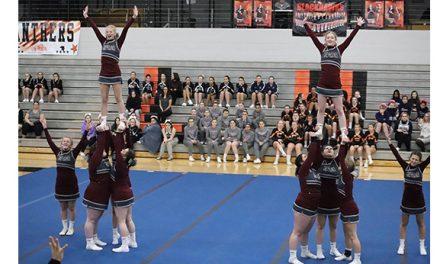 Eaton Rapids cheerleaders continue upward path