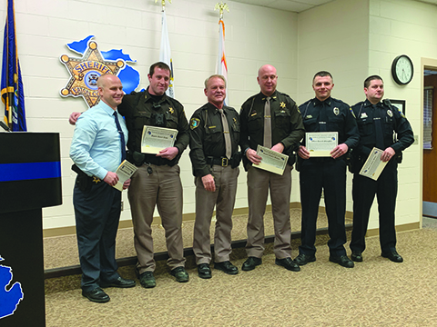 Eaton County Sheriff presents 2019 awards