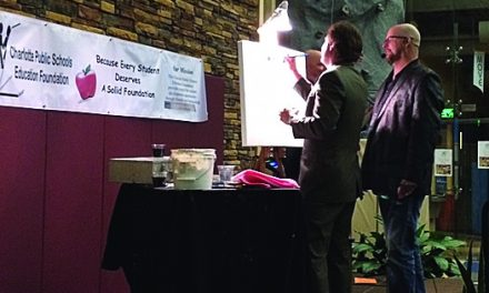 Empty Canvas a hit at Education Foundation's inaugural Art Appreciation event
