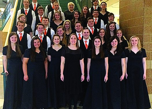 Charlotte High School choirs earn excellent ratings at MSVMA Choir Festival