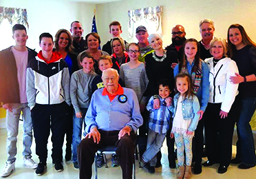 Family, community help Dick Cooper celebrate 90 years