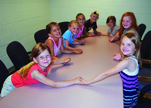 Fern Persons students forgo free time to help other children
