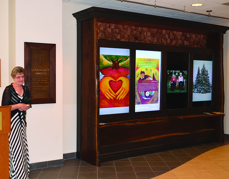Bowles family brings to life HGB's innovative Generosity Window