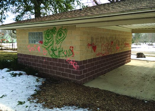 Graffiti the latest example of vandalism at a Charlotte park