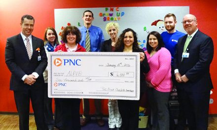 PNC volunteers earn $6K for AL!VE  through PNC Grants for Great Hours