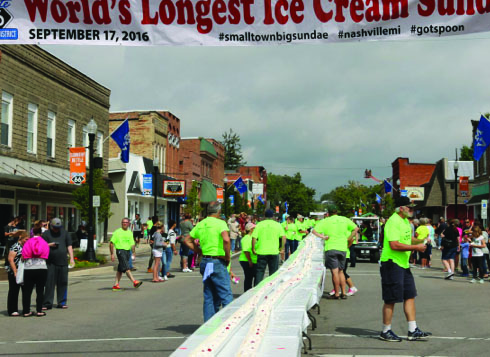 MOO-ville and Route 66  Business District take world record