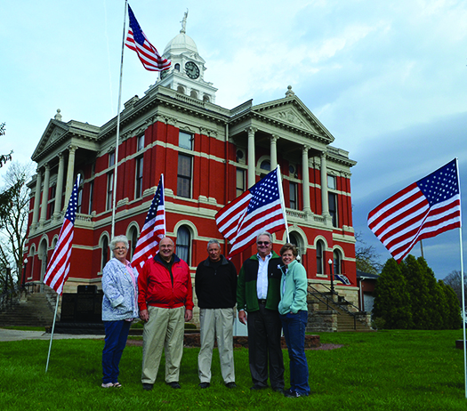 Kiwanis Flag Project returns for Memorial Day