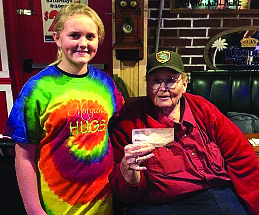 Eaton Rapids youth finds joy in  giving to others throughout the year