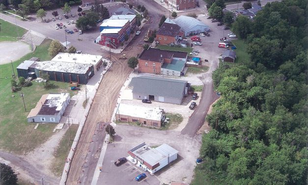 Construction in Olivet on schedule despite rain