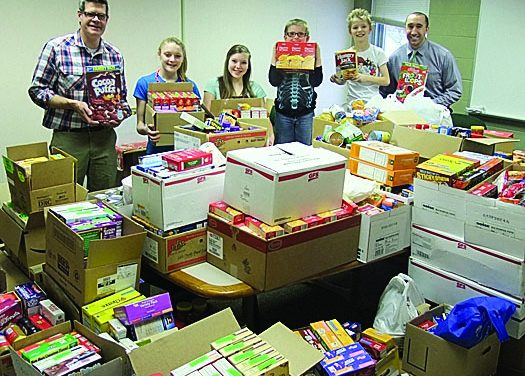 Olivet students generate enough food to feed 80-plus families