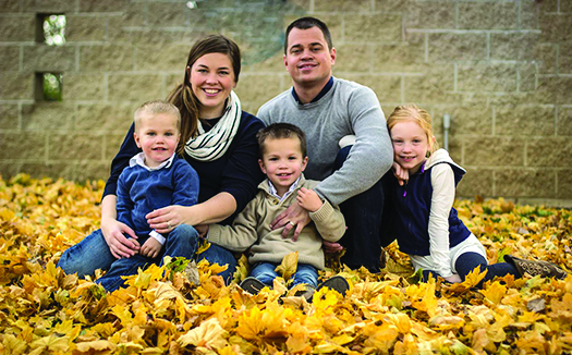 Pastor, family celebrate one  year at Ainger Bible Church