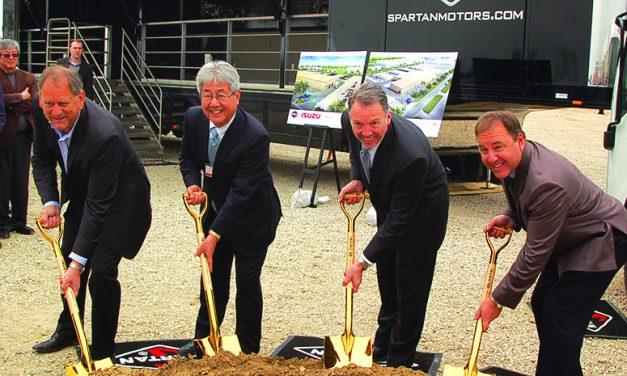 Spartan Motors breaks ground on $5.5 million expansion