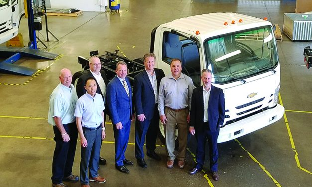 First Chevrolet medium duty truck  rolls off Spartan Motors production line