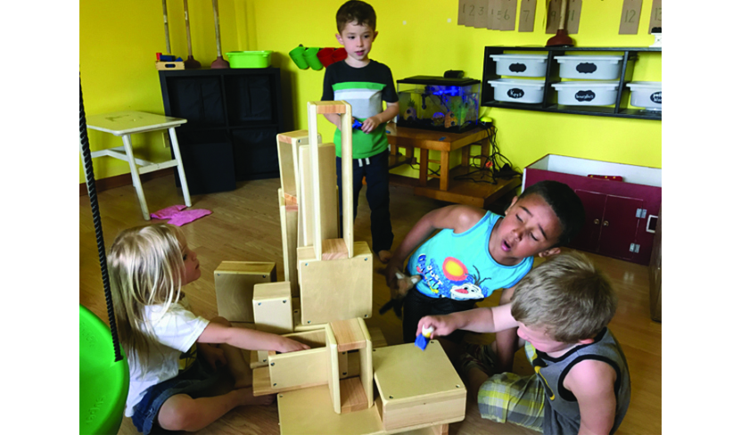 Acres of Play offers children the opportunity to learn through play